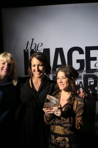 Tracey Cunningham is honored at Marie Claire Inaugural Image Maker Awards - Inside LOS ANGELES, CA - JANUARY 12: Chateau Marmont on January 12, 2016 in Los Angeles, California.