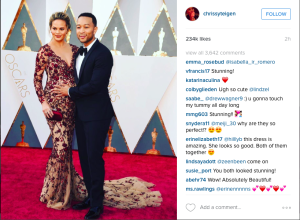 Chrissy Tiegen Instagram Post