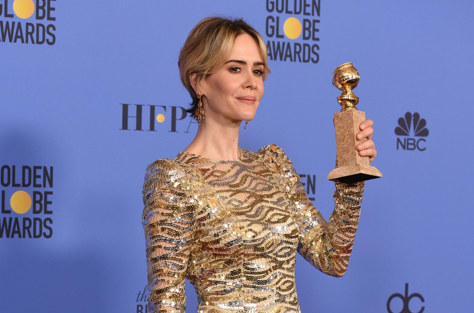 2017 Golden Globes Congratulations Emma Stone Sarah Paulson Tracey Cunningham