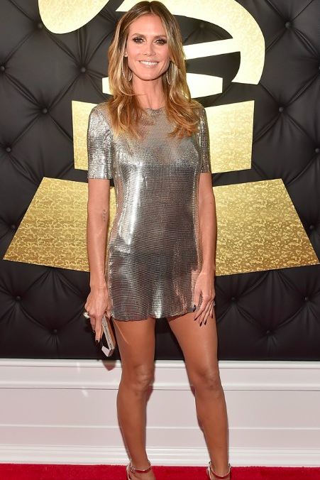 Heidi Klum Grammy Awards 2017