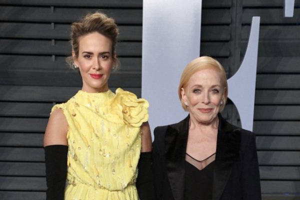 Sarah Paulson and Holland Taylor  Photo Credit:  Matt Baron/REX/Shutterstock