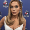 Jennifer Lopez Honey Colored Locks